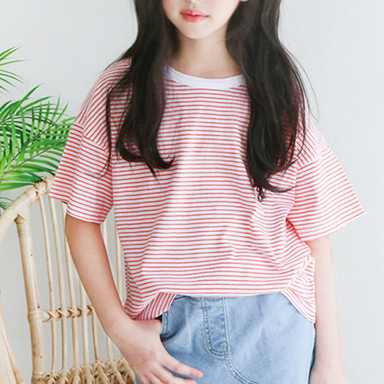 Mini Striped T-shirt - shockingpark