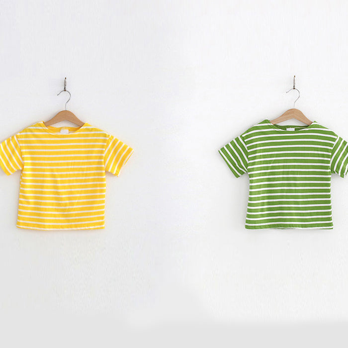 Summer Saint Stripe T-shirt - shockingpark