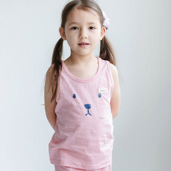 Bear Indipink None sleeve - shockingpark