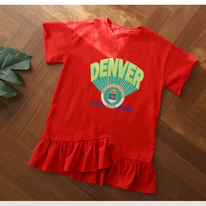 DENVER Red One-Piece - shockingpark