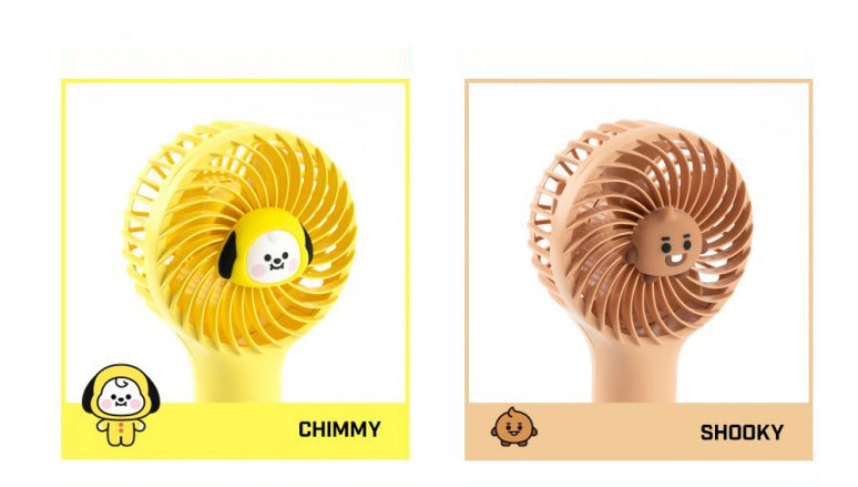 (BT21) Mini handi fan - shockingpark