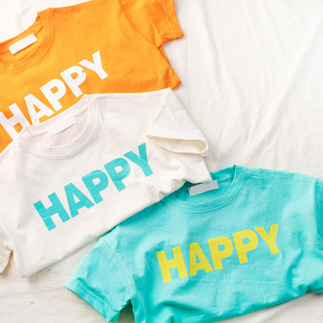 I'm Happy T-shirt - shockingpark