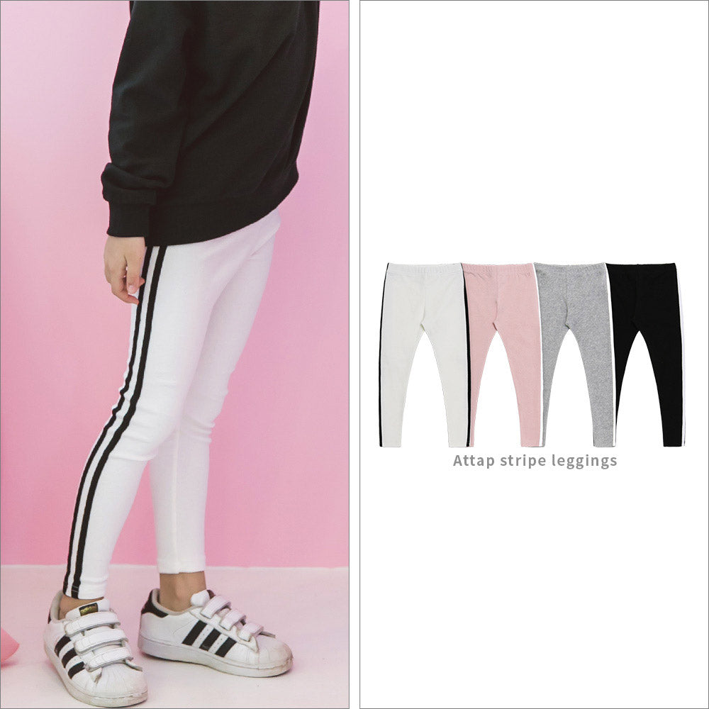 Attap Stripe Leggings - shockingpark