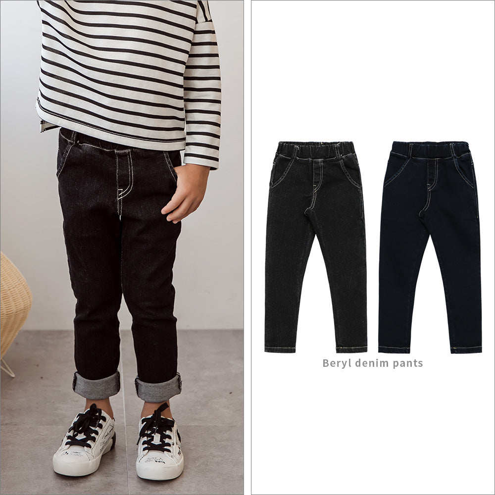 Beryl Denim Pants - shockingpark