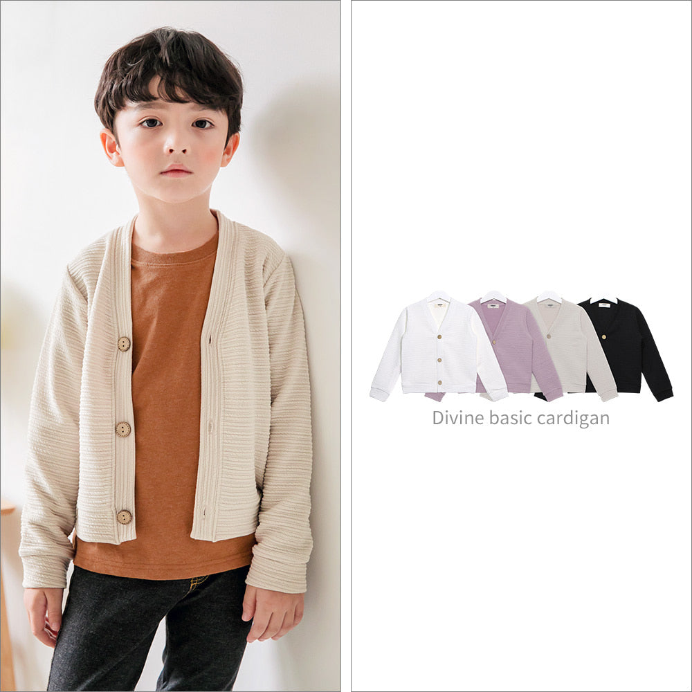 Divine Basic Cardigan - shockingpark