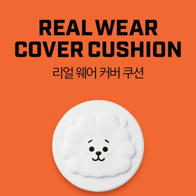 VT BT21 REAL WEAR COVER CUSHION - shockingpark