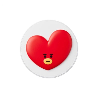 VT BT21 REAL WEAR SATIN CUSHION - shockingpark