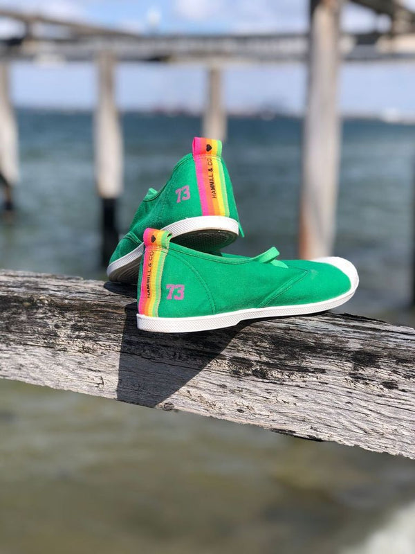 Sneaker - Green || Hammill & Co