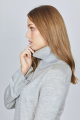 The Gums Capelet - Grey Marle