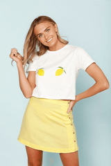 CHEEKY LEMON TEE