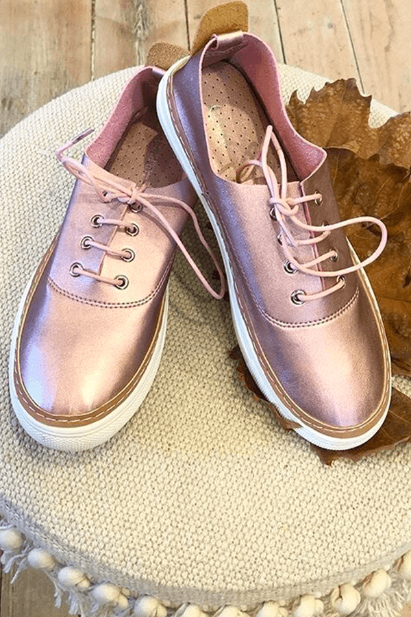 CRUISE SAND SHOE - BLUSH/ROSE