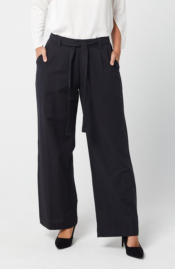 CHANEL TROUSERS - DARK NAVY || KAJA