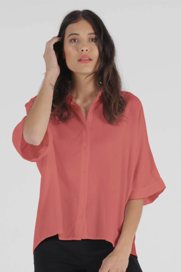 Ellis Shirt - Rosa || Betty Basics