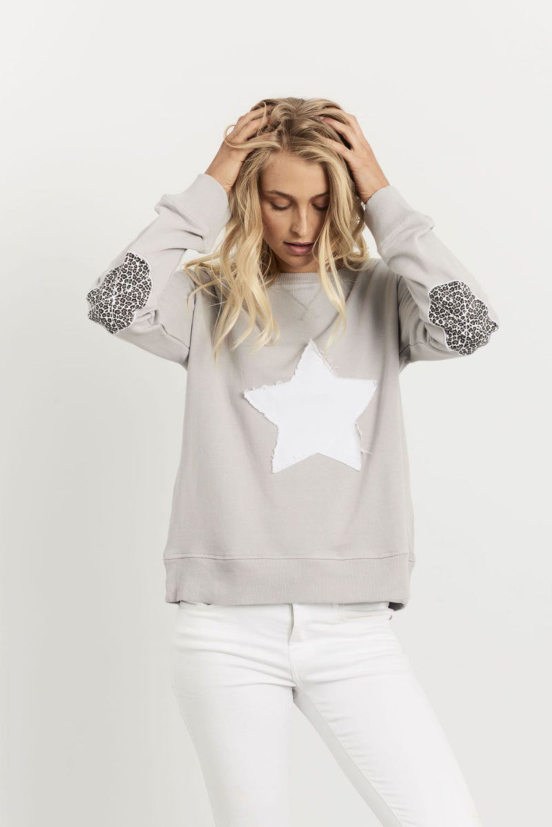Leopard Star Windy - French Grey
