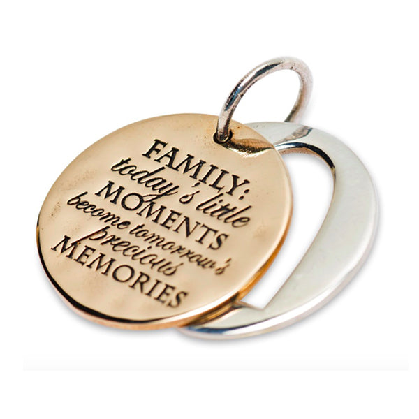 FAMILY MEMORIES SLIDER CHARM