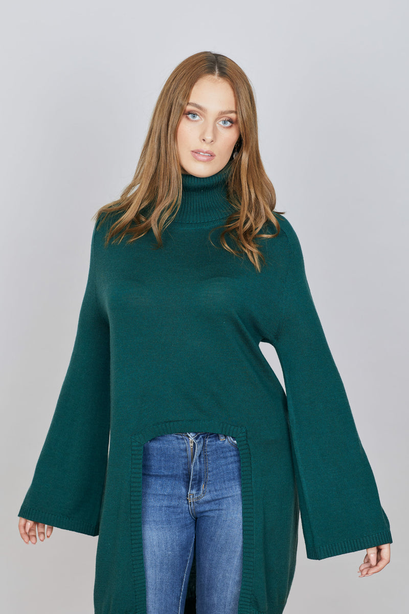 The Gums Capelet - Forest Green || IRIS & WOOL