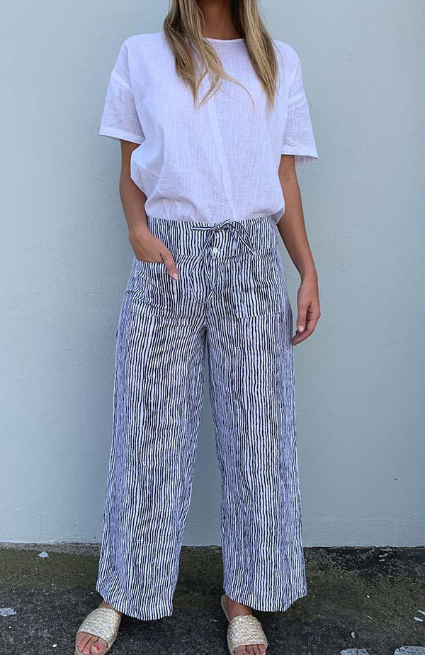 JADA PANTS - STRIPED
