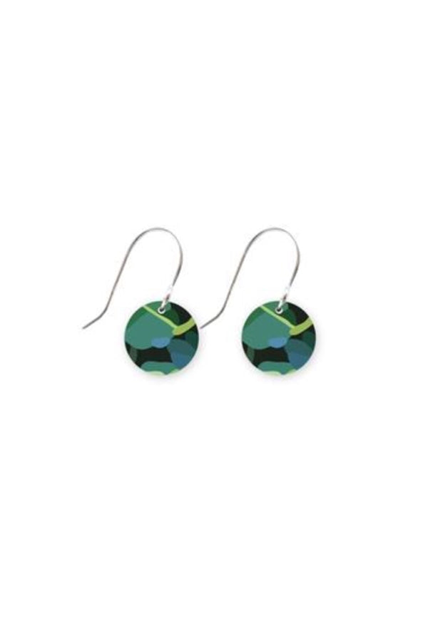 JUNGLE KIMMY SMALL CIRCLE DROP EARRINGS