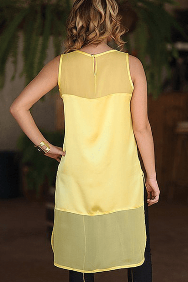 THE KATE TOP - YELLOW