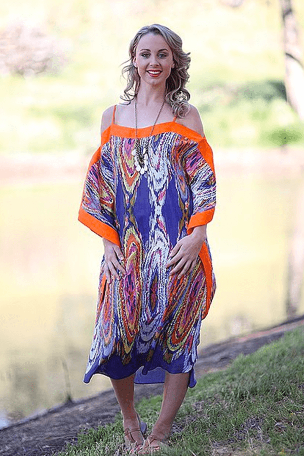 ELIZABETH KAFTAN - ORANGE