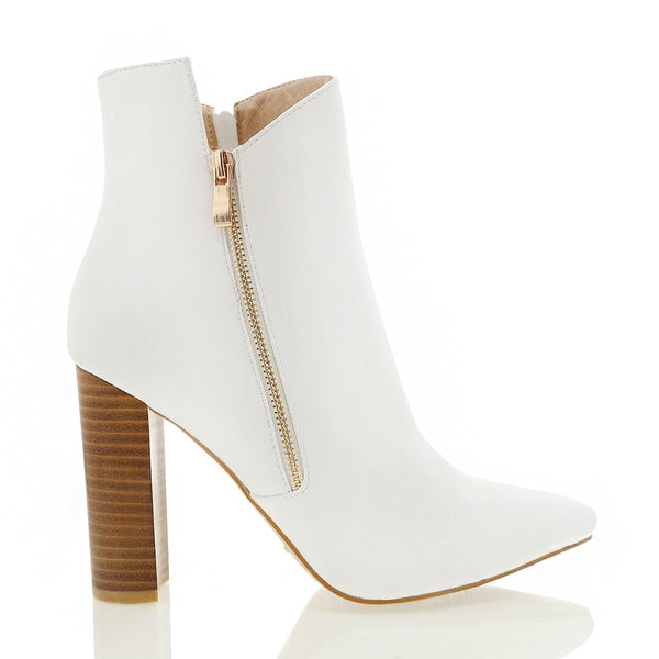 MABELLE ANKLE BOOT - WHITE