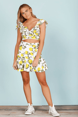 SUNFLOWER BODICE- LEMON DROP
