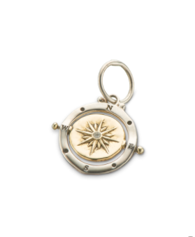Guiding Light Mini Spinner Charm || Palas