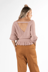 Selby Rib Knit - Blush
