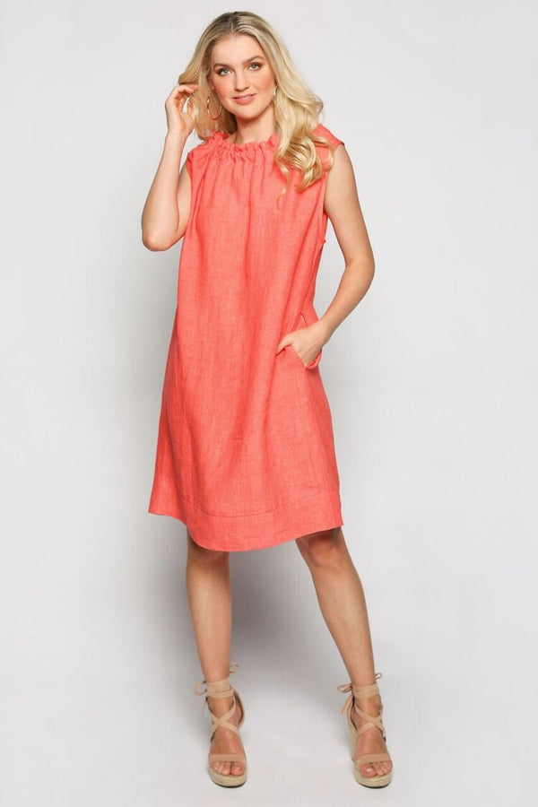 AUBREY DRESS - MELON
