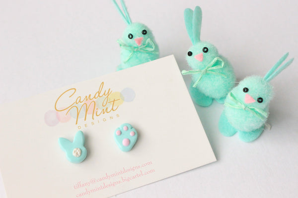 EASTER BUNNY STUDS