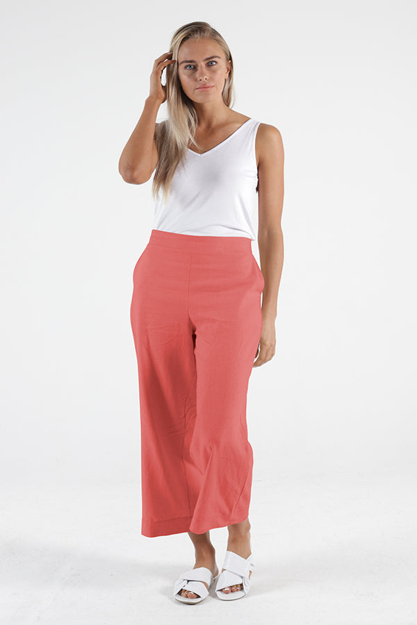 Parker Pant - Berry || Betty Basics