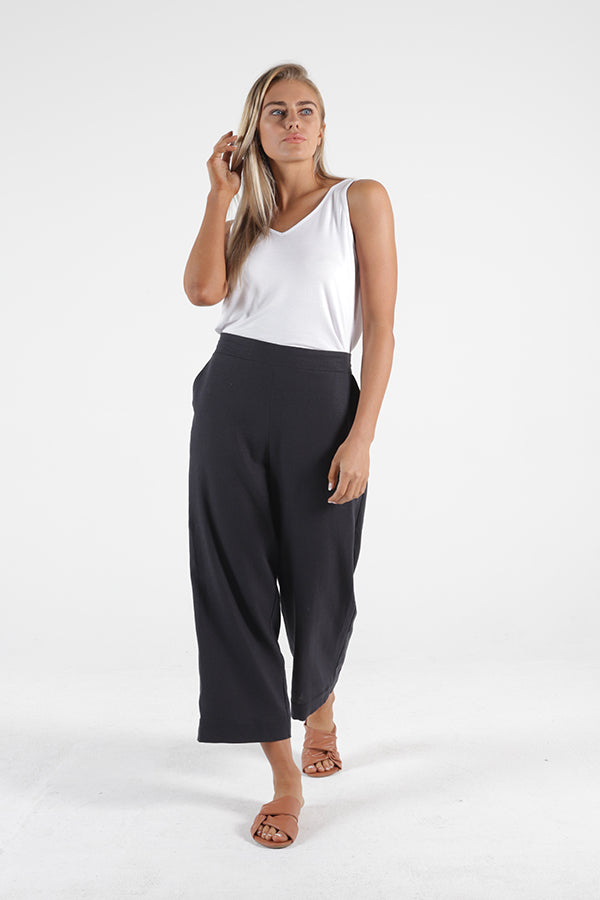 Parker Pant - Indi Grey || Betty Basics