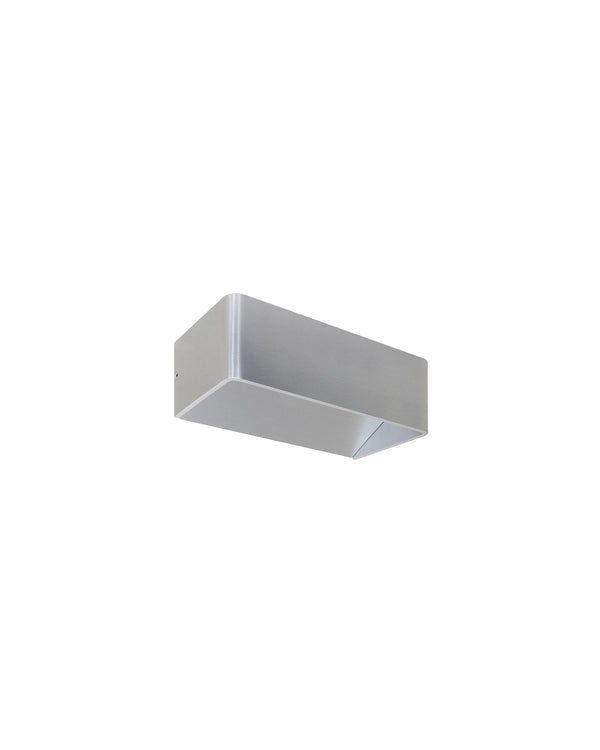 aluminium wall light
