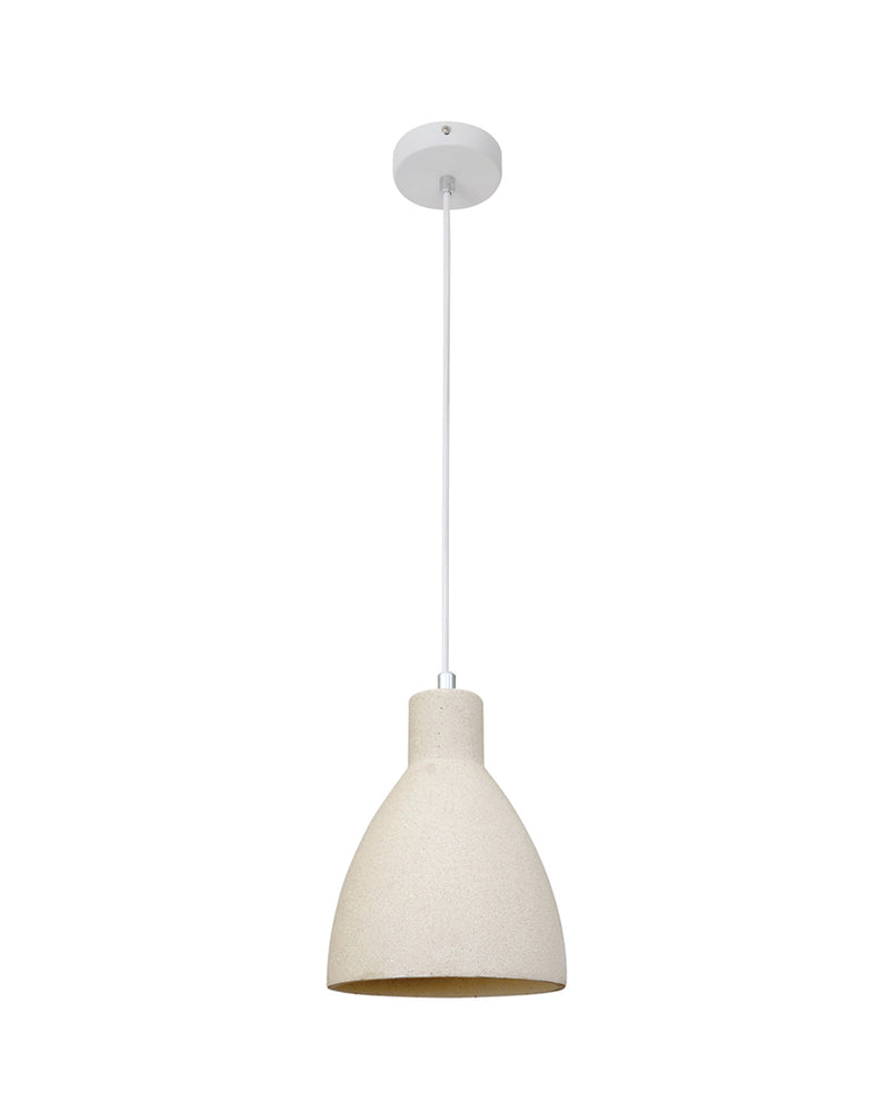 white concrete pendant nz