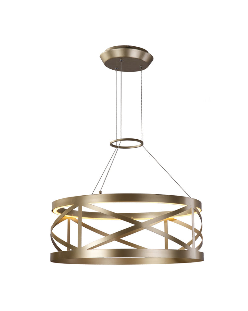 champagne gold pendant light