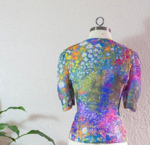 """Galaxy of Flowers"" Blouse"