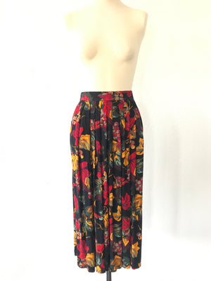 """Hues of Florals"" Skirt"