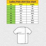 brand unt slim stretchable white polka ladies polo shirts