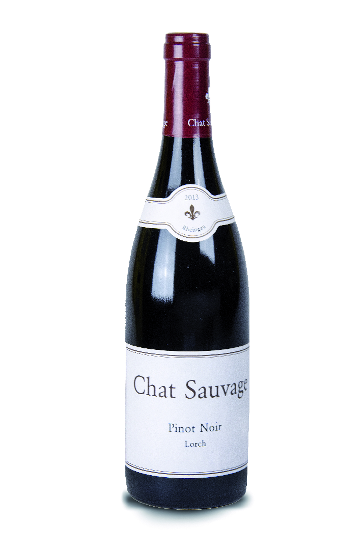 Chat Sauvage Pinot Noir Lorch - 0,75 l