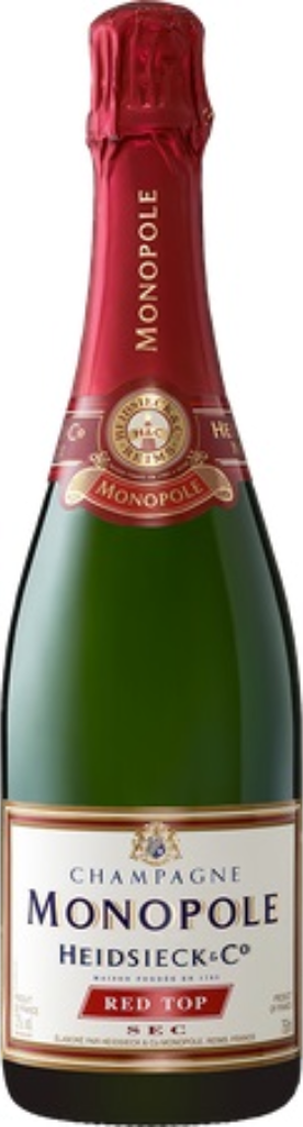 Champagner Heidsieck Monopole Red Top - 0,75 l
