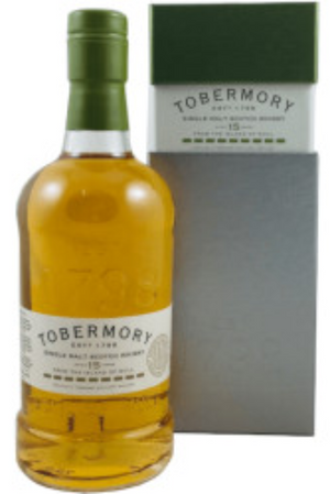 Tobermory Isle of Mull 15 Jahre Single Malt - 0,70 l