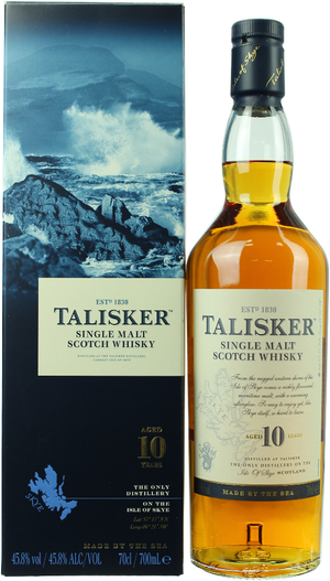 Talisker Isle of Skye Single Malt 10 J. - 0,70 l
