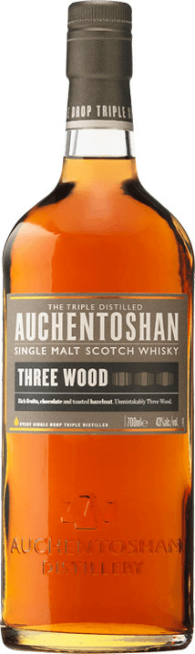 Auchentoshan Three Wood Lowland Single Malt Scotch Whisky - 0,70 l