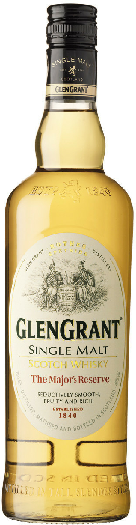 Glen Grant Single Malt Majors Reserve - 0,70 l