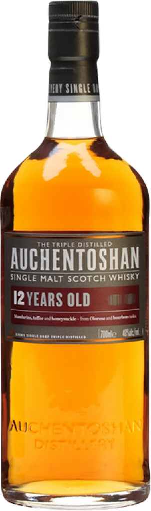 Auchentoshan 12 Jahre Lowland Single Malt Scotch Whisky - 0,70 l