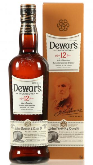 Dewar's 12 J. Special Reserve Blended Scotch Whisky - 0,70 l