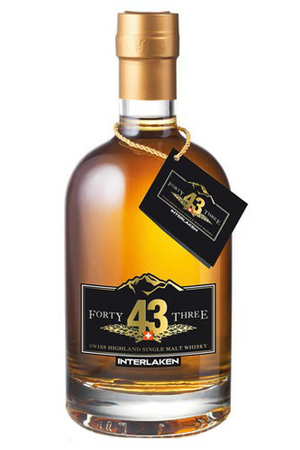Swiss Highland Single Malt Forty Three 43 Rugen - 0,50 l