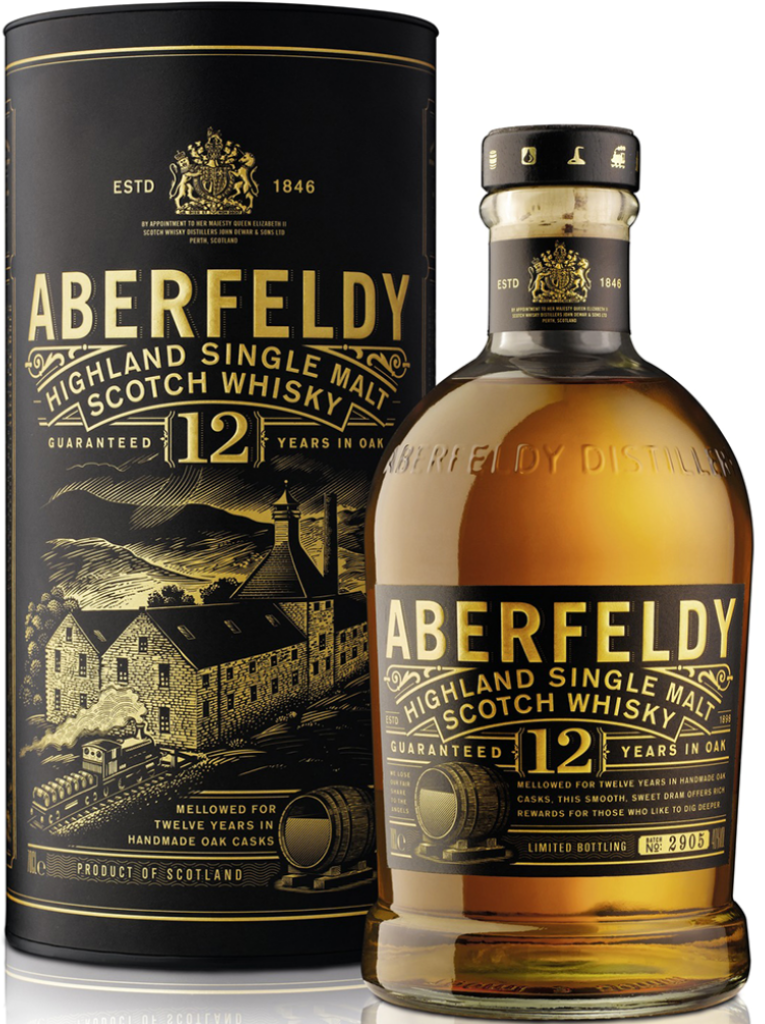 Aberfeldy 12 Years Highland Single Malt - 0,70 l