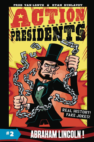 Action Presidents HC Book 02 Abraham Lincoln