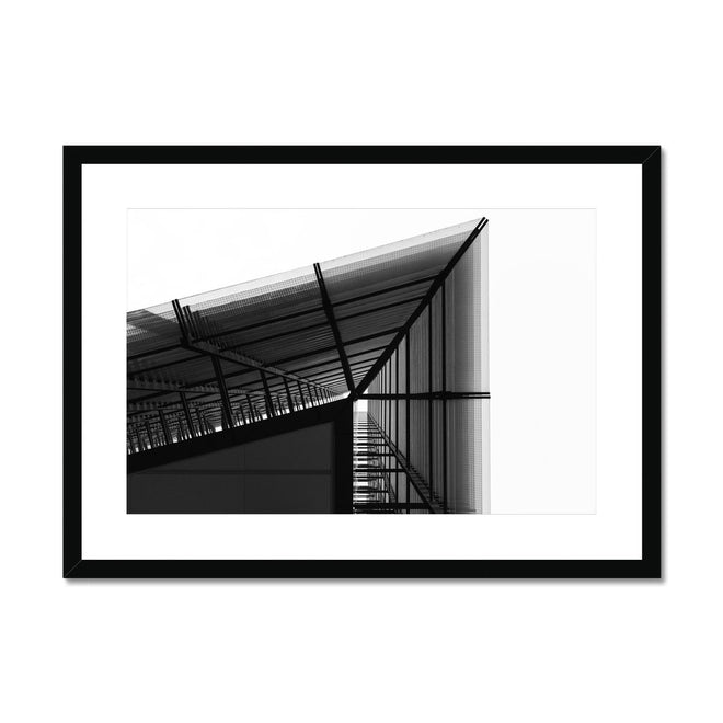 Black and White Prints Framed & Mounted
